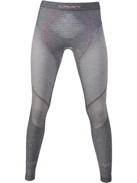 UYN W's Ambityon Melange UW Long Pants Grey Melange/Nude/Salmon